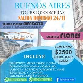 Tour de compras a Buenos Aires