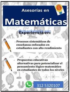 Asesoría en Matemáticas