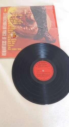 DISCO VINILO LP ORQUESTA ROMANTICOS DE CUBA 3 MASTERPIECE MUSIDISC 33 1/3 LONG PLAY