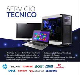 REVISIONES TECNICAS INFORMATICAS / REPARACION & MANTENIMIENTO DEDICADO PC LAPTOP IMPRESORAS EN GENERAL