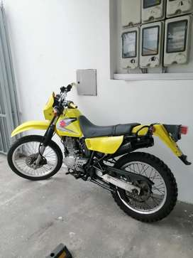Suzuki DR 200 Papeles al día