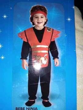 Disfraz de Ninja Para Bebé De 6 A 12 Meses