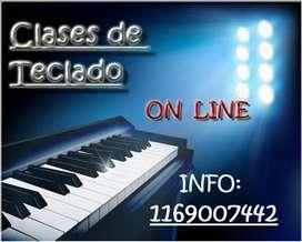 CLASES DE TECLADO - VIRTUALES