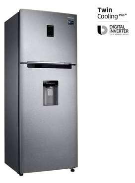 Heladera freezer superior No Frost inoxidable 382 litros