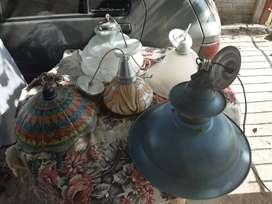 Porta lamparas antiguas