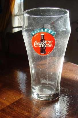 Antiguo Vaso De Vidrio De Coca Cola