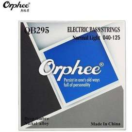 Encordado Orphee Nickel Alloy QB295  Bajo 5 Cuerdas .45125