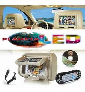 Cabeceras Pantallas Para Auto - Dvd Usb Micro Sd Juegos Tuning..