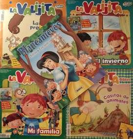 Revistas y libro infantil usados,  Cant: 5 Combo, con detalles 4 la valijta