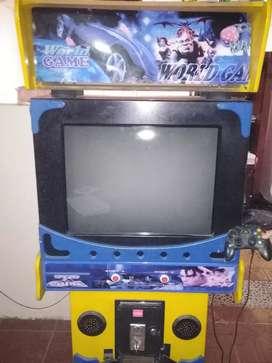 Maquina de video juegos