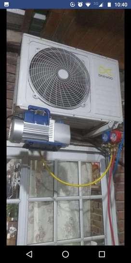 Instalador y reparador de aires acondicionados