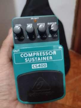 COMPRESOR/SUSTAIN BAJO Y GUITARRA ELÉCTRICA