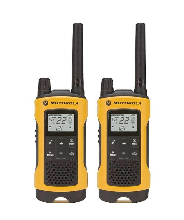 RADIOS WALKIE TALKIE MOTOROLA T402 56KM 22CH (NUEVO)