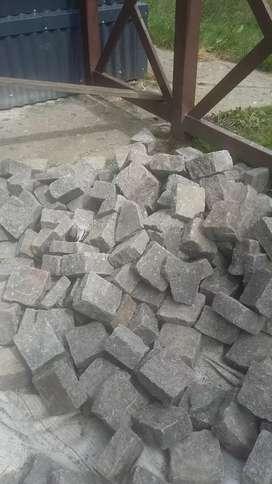 Vendo piedra cuadradas