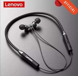Audífonos lenovo bluetooth 5.0 HE05 originales. Deporte.