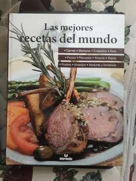Libro las mejores recetas del mundo