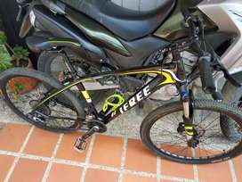 Bicicleta MTB carbono barata