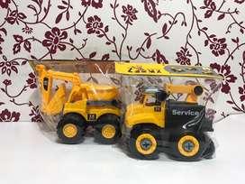 Variedad de juguetes para bebés y niños