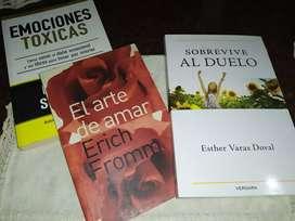 Libros en excelente estado