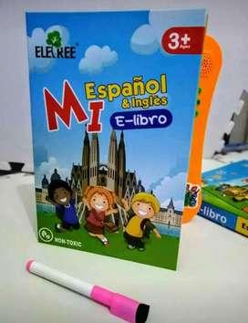 LIBRO ELECTRÓNICO INTERACTIVO ESPAÑOL INGLES
