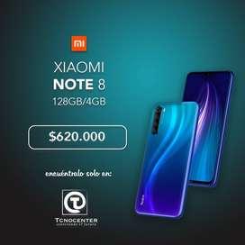 Xiaomi Note 8 4GB/128GB almacenamiento, Somos Tienda FISICA, empresa lider en Tecnologia.
