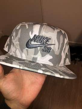 Gorra Nike Sb White Camo Nueva !