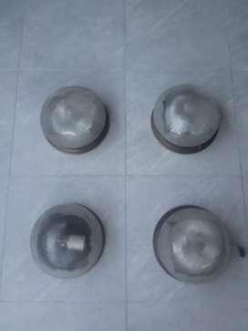 Lámparas antiguas juego de 4