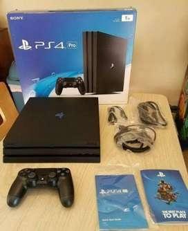 Playstation 4 Pro de 1tb  Juego Gratis