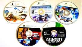 5 Juegos XBOX 360 Originales