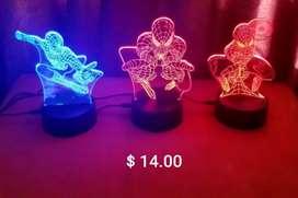 Lámparas Led3D