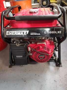 Planta eléctrica honda G 750 de 7.5kva