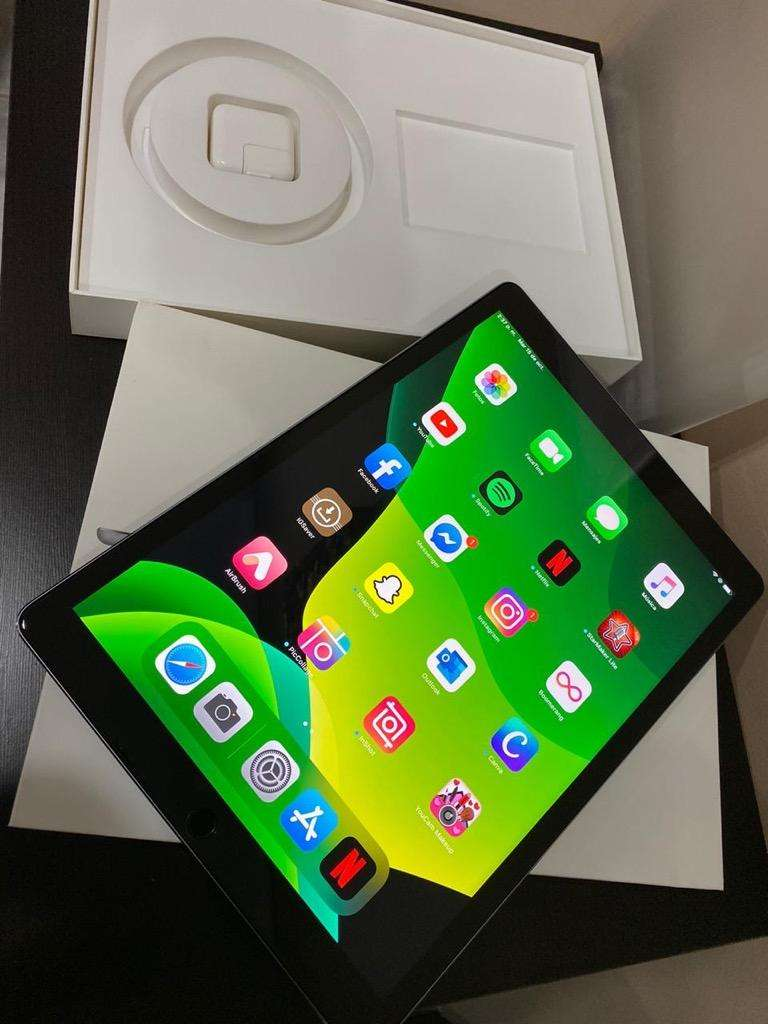 iPad 12.9 32 Gb Caja Y Cargador original 10/10 Garantía 3 meses 0