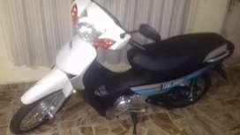 Oferta moto ganada en concurso de empresa