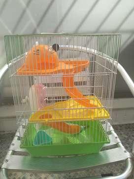 Casa para Hamster con accesorios