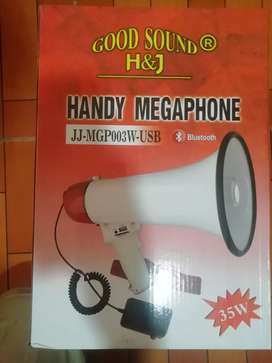 Megáfono 35 whatts marca H&J con Bluetooth