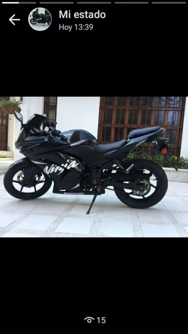 Kawasaki ninja 250 2011 0
