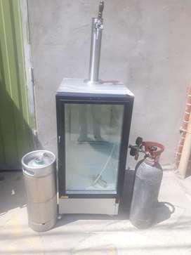 Dispensador de Cerveza Tipo Refrigerador