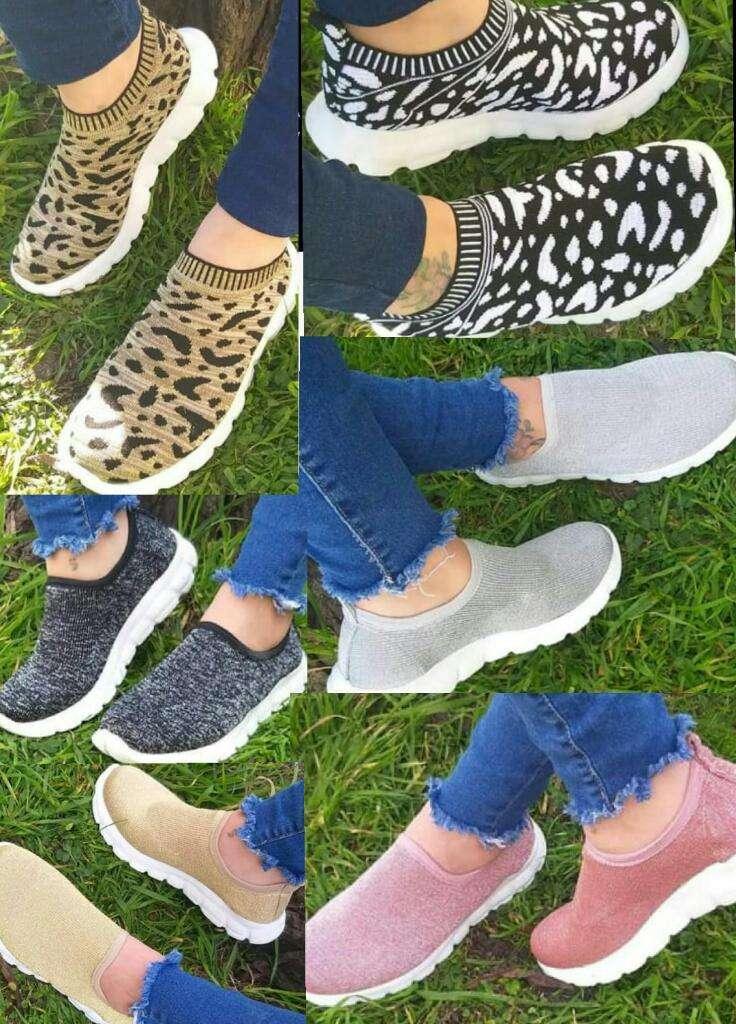 Zapatillas Esped Elastisadas . 0