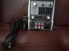 Mezclador de audio henix
