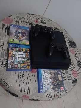 PlayStation 4 de 500 GB (caja original)