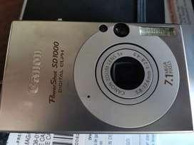 Cámara digital Canon PowerShot SD1000 7.1 megapixeles