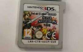 Nintendo 3DS super smash Bros EUR