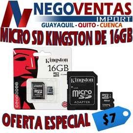 MICRO SD DE 16 GB , TARJETA DE MEMORIA DE 16 GB