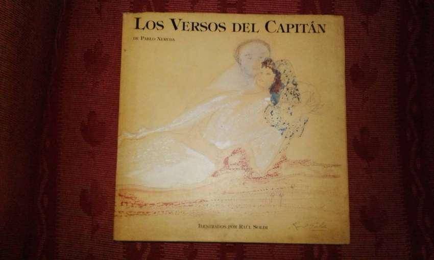 Libro Los Versos del Capitán. Pablo Neruda 0
