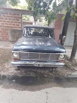 Ford 100 v8 1968 motor nuevo $450.000