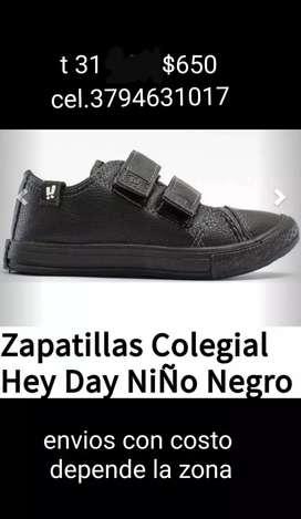 Zapatilla unisex niños nro 31