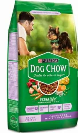 Dog Chow Cachorros Minis y Pequeños 17 Kg
