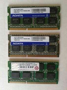 Memoria Ddr3 Laptop 2gb, 4gb
