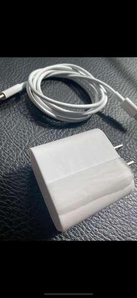 Cargador carga rapida para iphone 18w