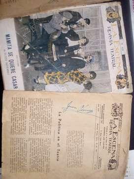 Revistas teatral antiguas